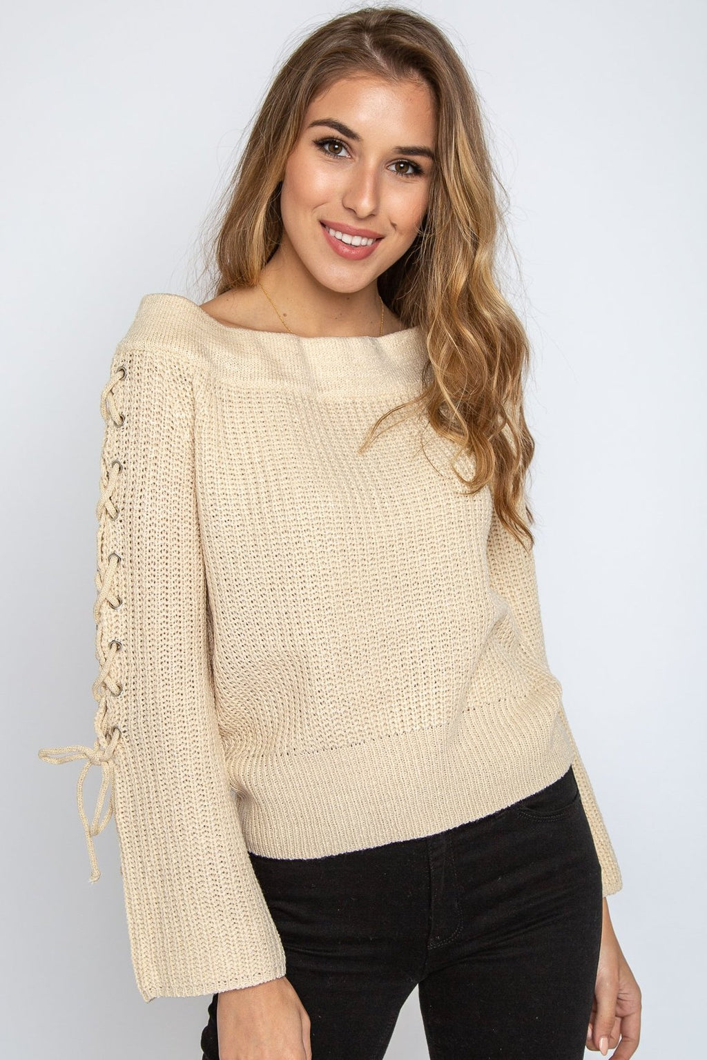 Emiliana off the Shoulder Sweater