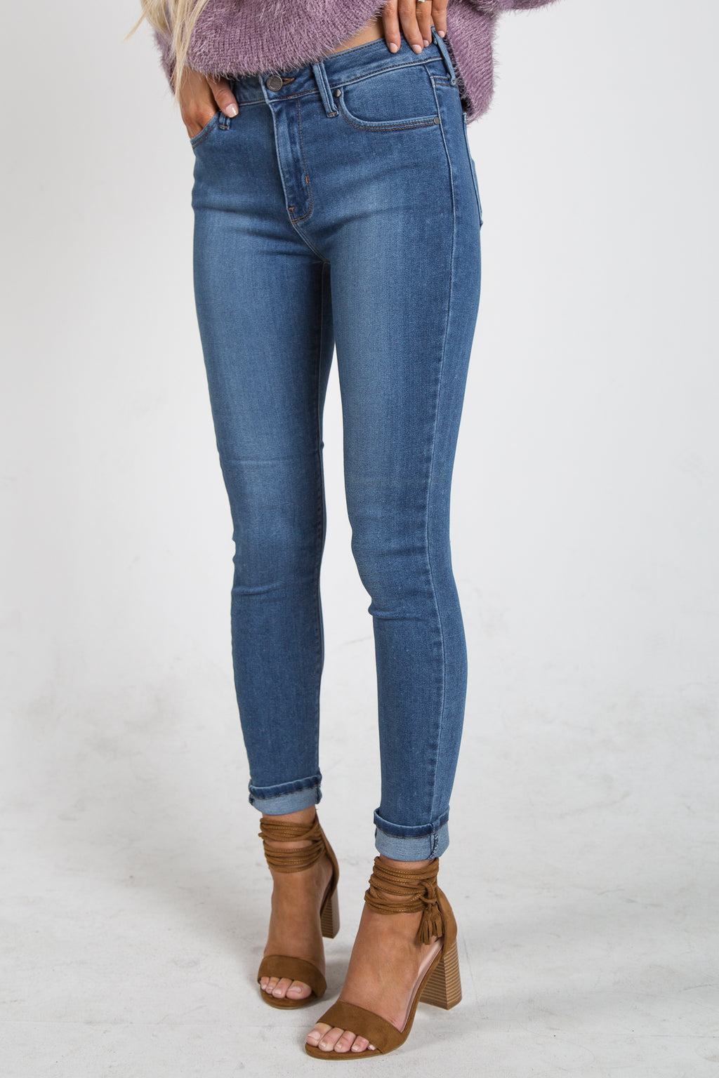 Cristina Skinny Medium Wash