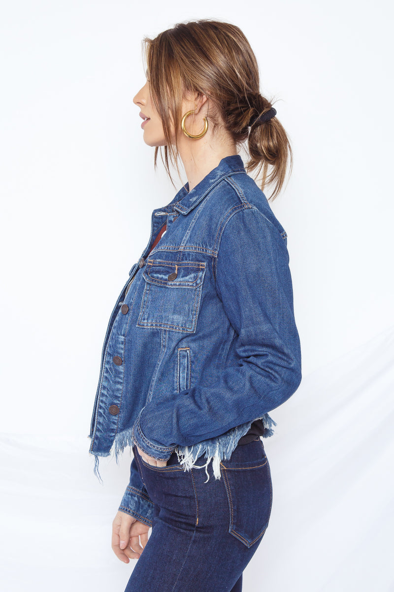Phoenix Distressed Jacket