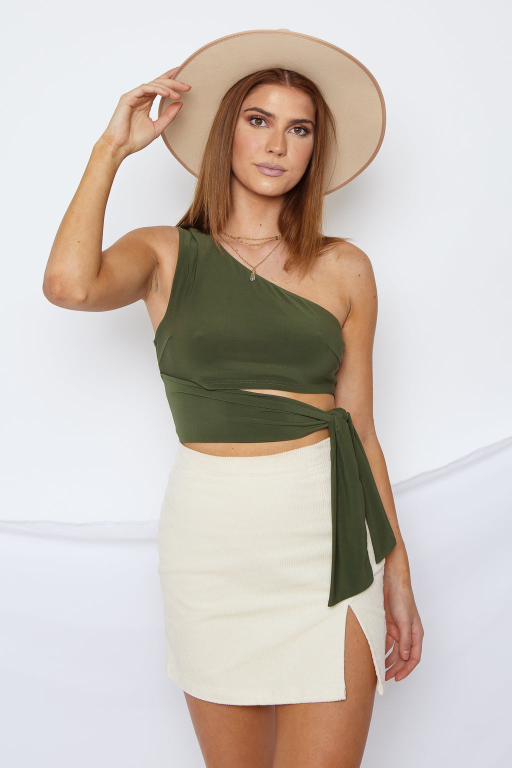 Caroline One Shoulder Top