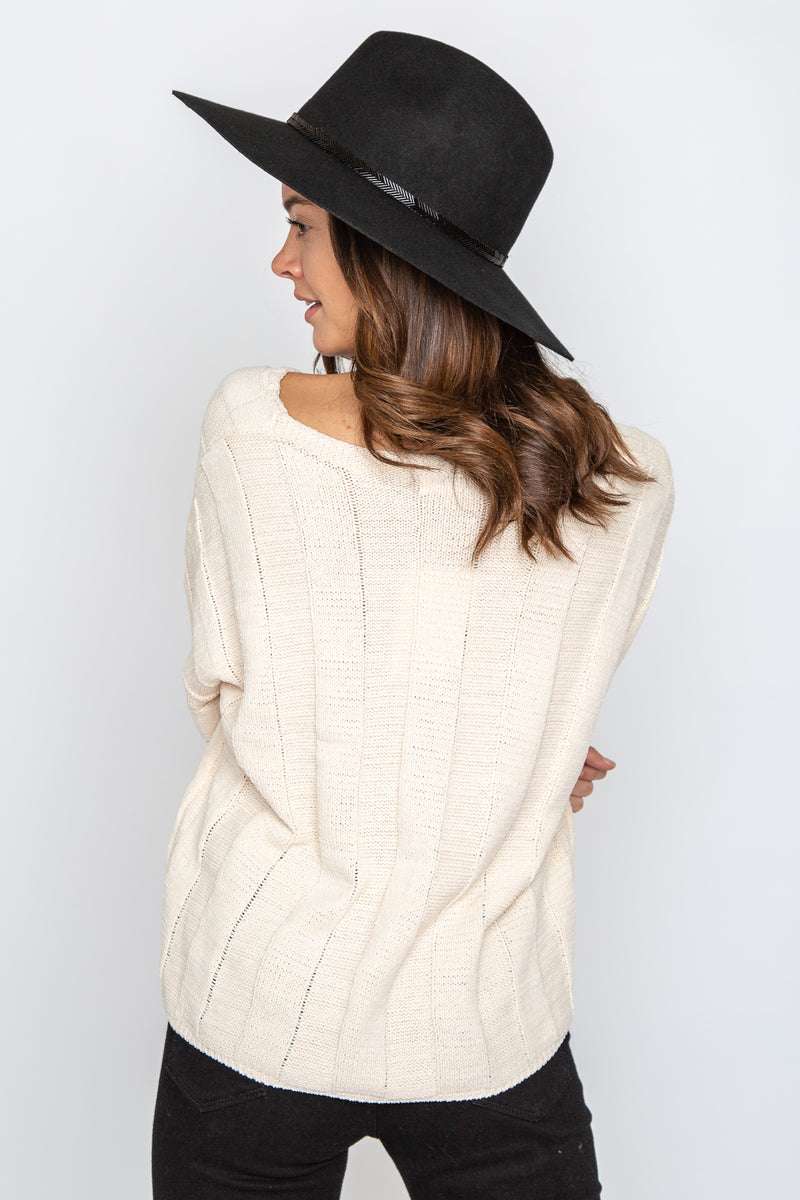 Grace Cropped Sweater