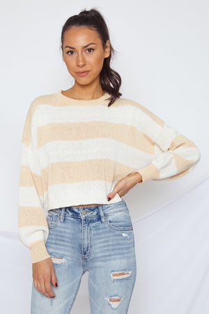 Toni Cropped Sweater