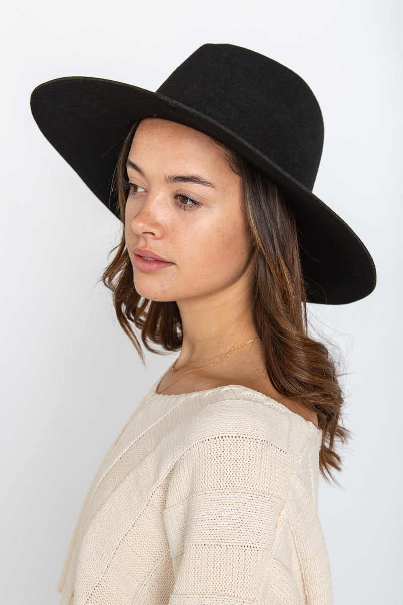 Madison Hat Black
