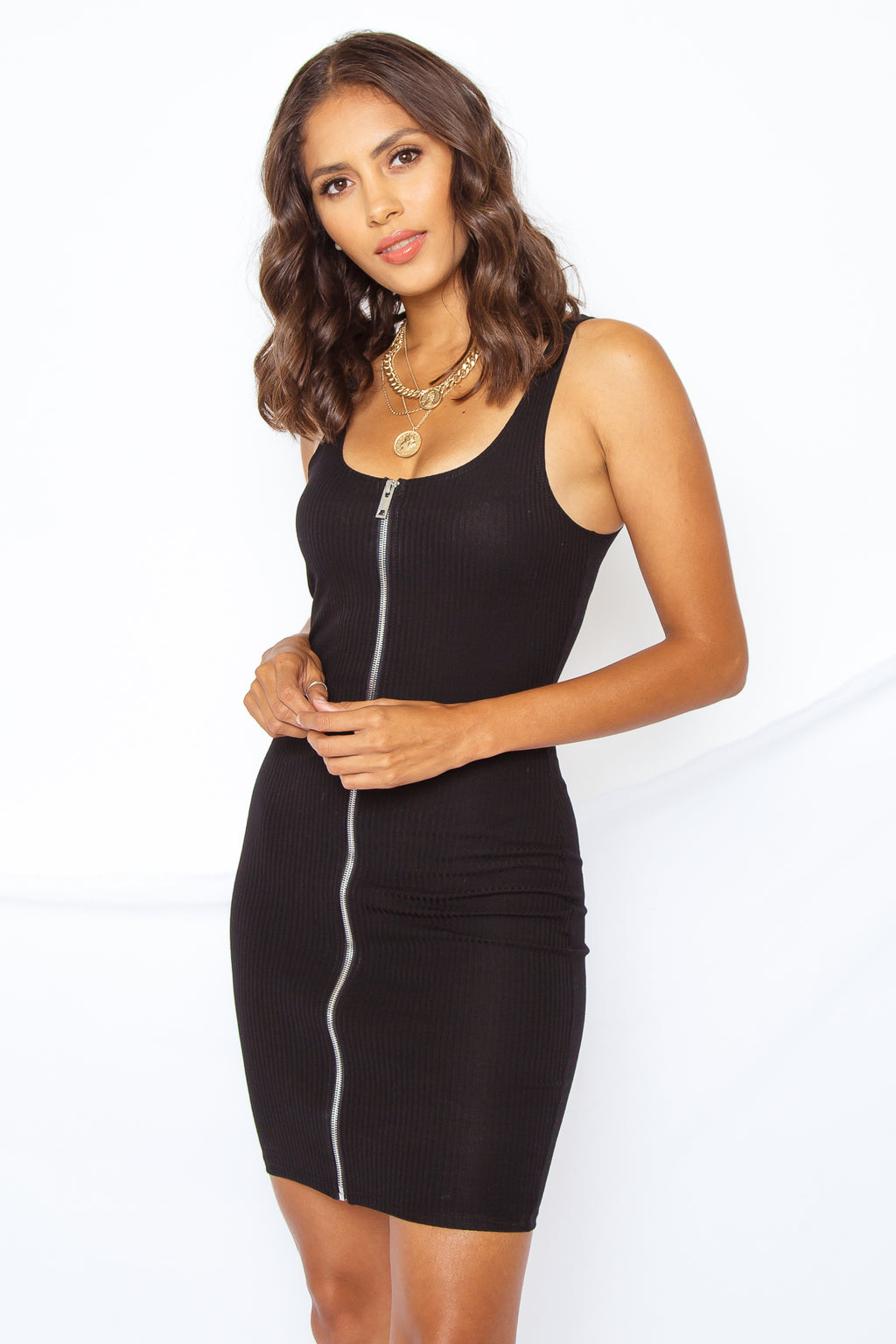 Julianna Zip Tank Dress