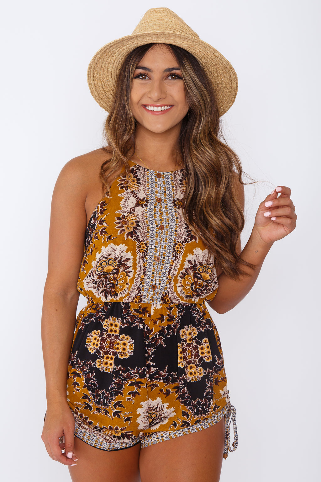 Gold Coast Romper
