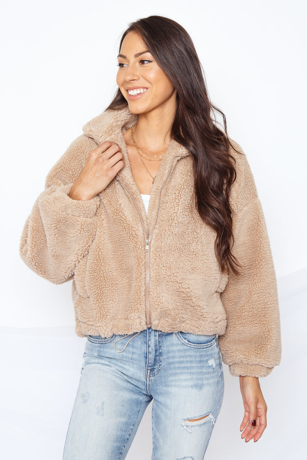 Fabulous Faux Fur Jacket