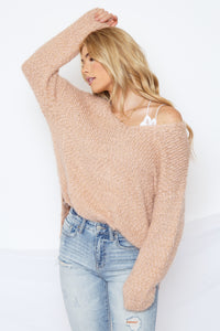 Victoria Sweater Peach