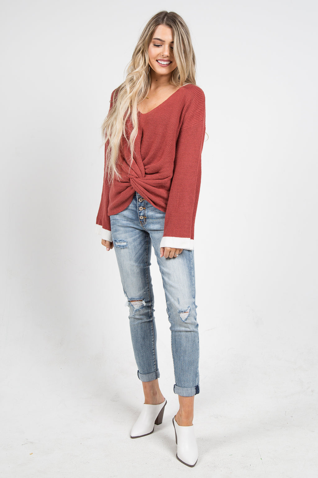 Cupid Twist Sweater