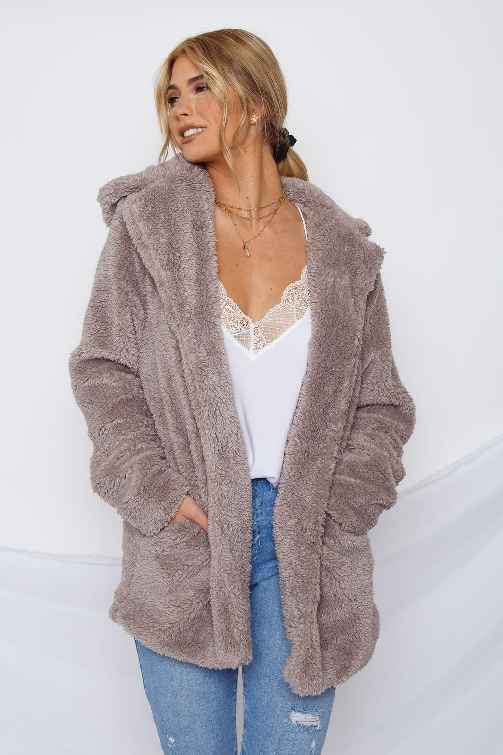 Coco Faux Fur Coat