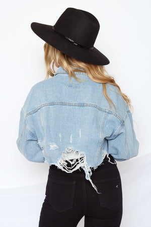 Raven Denim Jacket