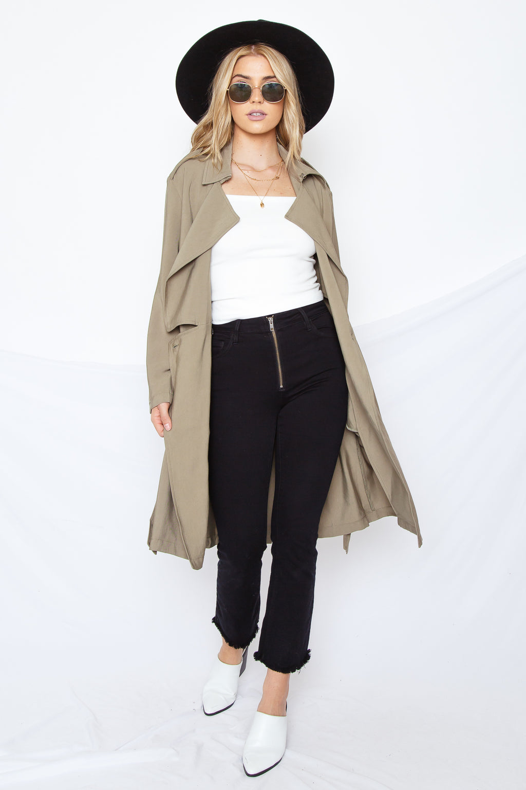 Tinsley Trench Coat