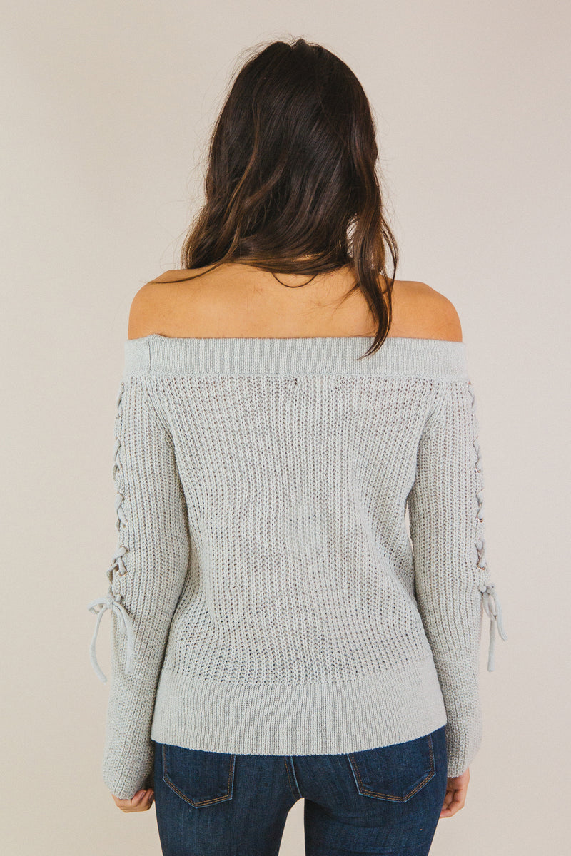 Delilah Sweater Grey