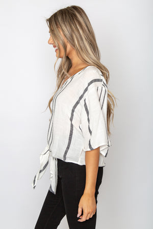 Carbon Beach Blouse