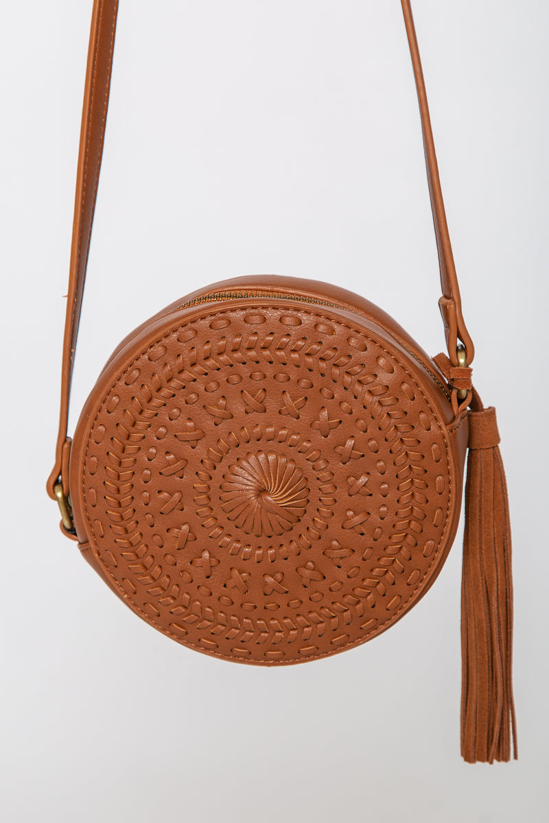 Venice Circle Bag Brown
