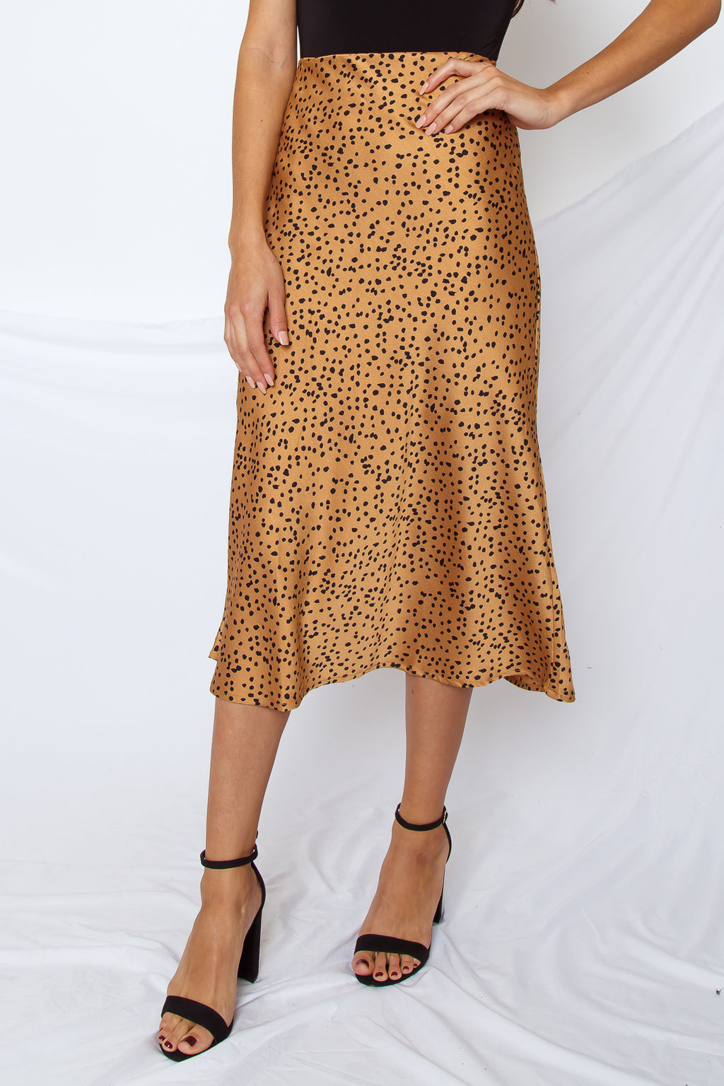 Lisa Leopard Skirt