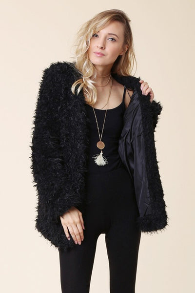 Fullerton Faux Fur Jacket