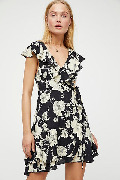 Free People French Quarter Mini Black