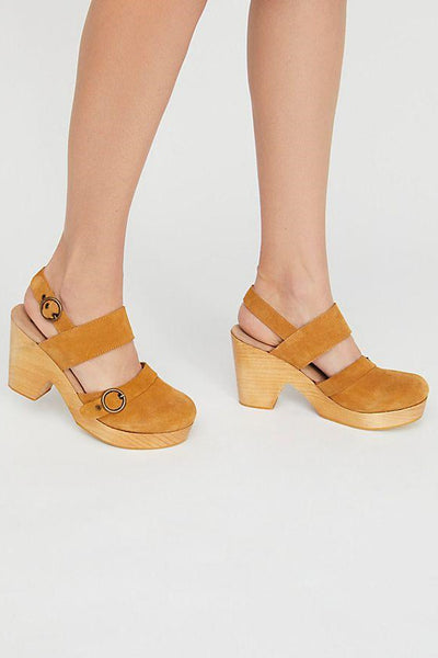 Free People Park Circle Clog