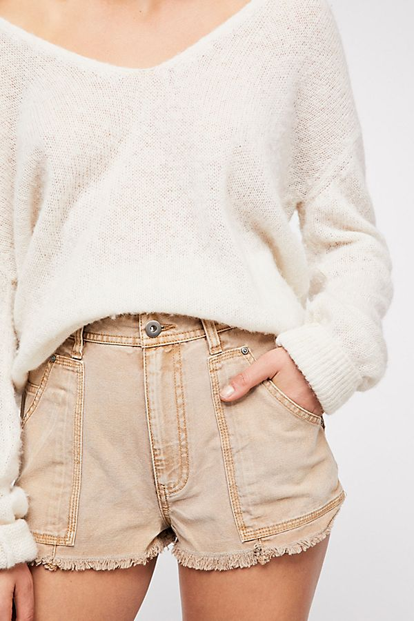 Free People Get Far Out Cutoff Shorts