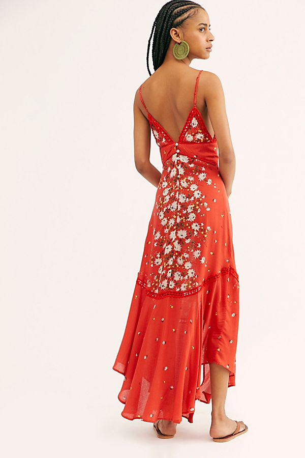 Free People Paradise Printed Maxi