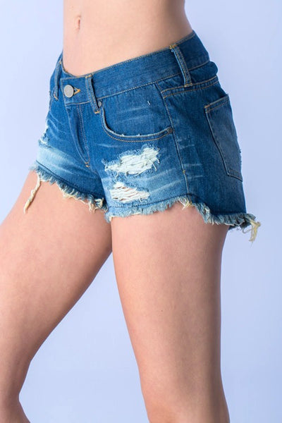 Laney Distressed Shorts
