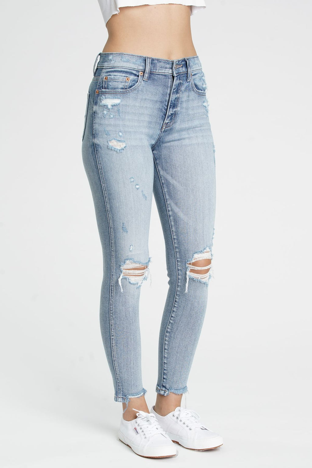 Moneymaker High Rise Skinny