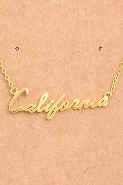 California Necklace