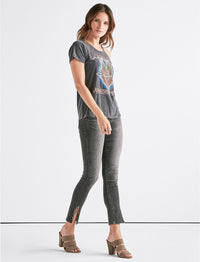 Lucky Brand Journey Cold Shoulder Tee