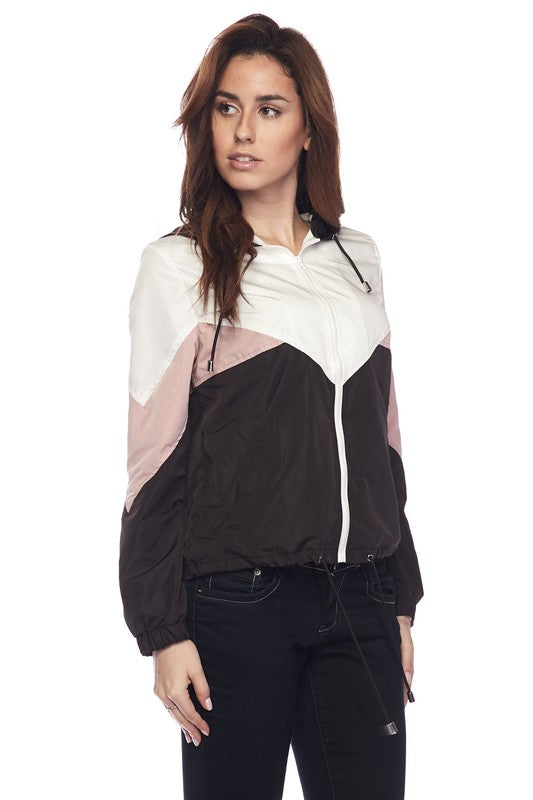 Janelle Windbreaker Jacket