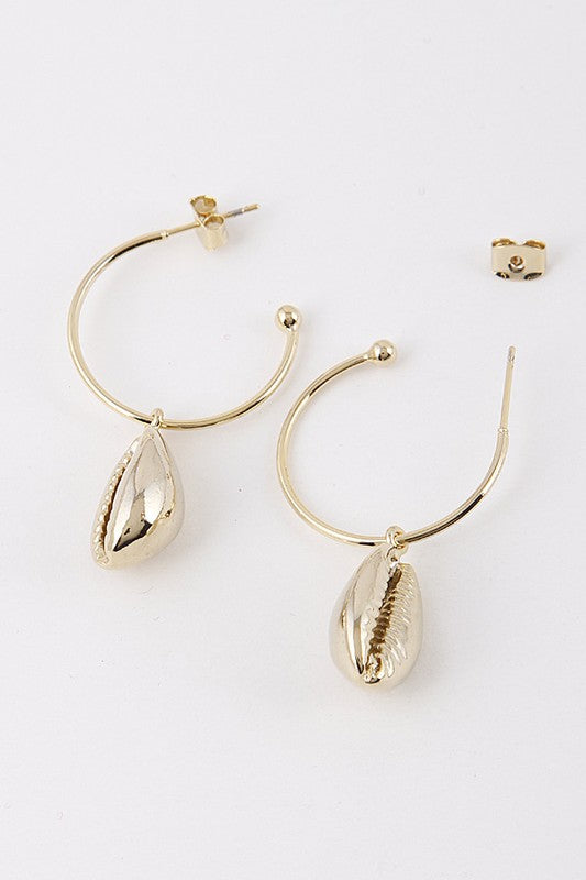 Sienna Seashell Earrings