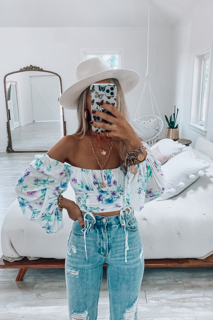 Kaia Floral Crop Top