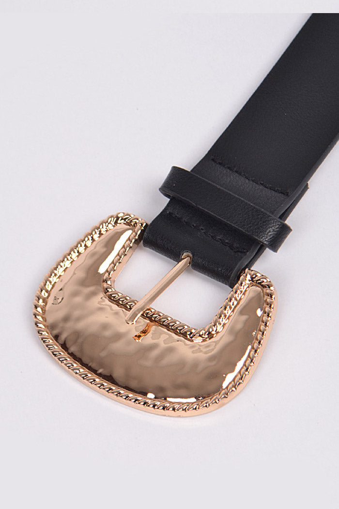 Naomi Belt Black/Gold