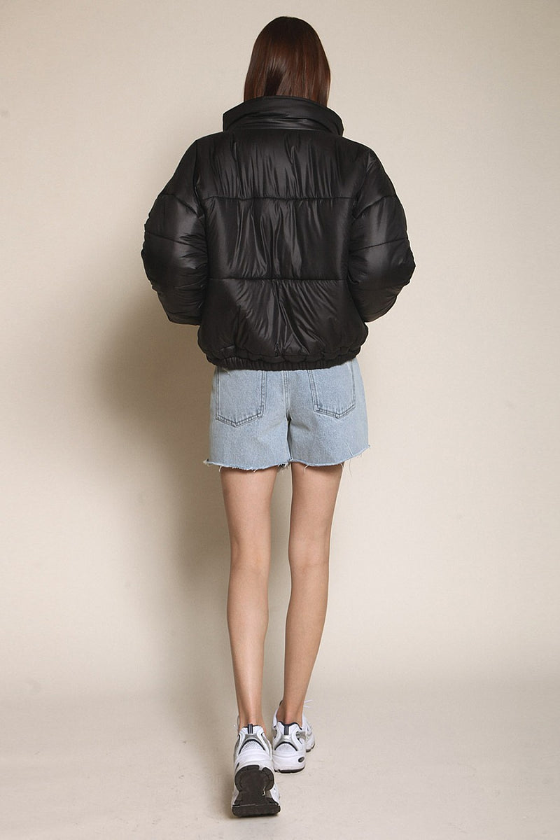 Midnight Puffer Jacket