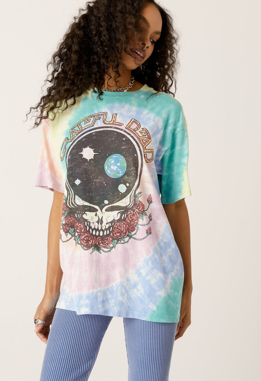 Grateful Dead Space Your Face Weekend Tee
