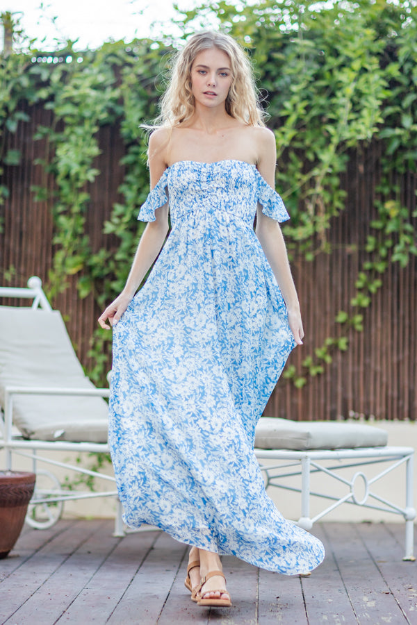 Madelyn Floral Maxi Dress