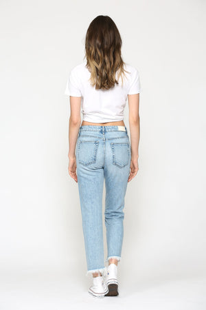Jamie High-Rise Straight Jean
