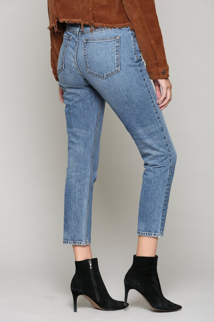 Zoey High Rise Mom Jean