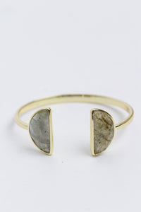 Labradorite Adjustable Cuff