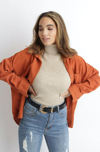 Fireside Corduroy Jacket Rust