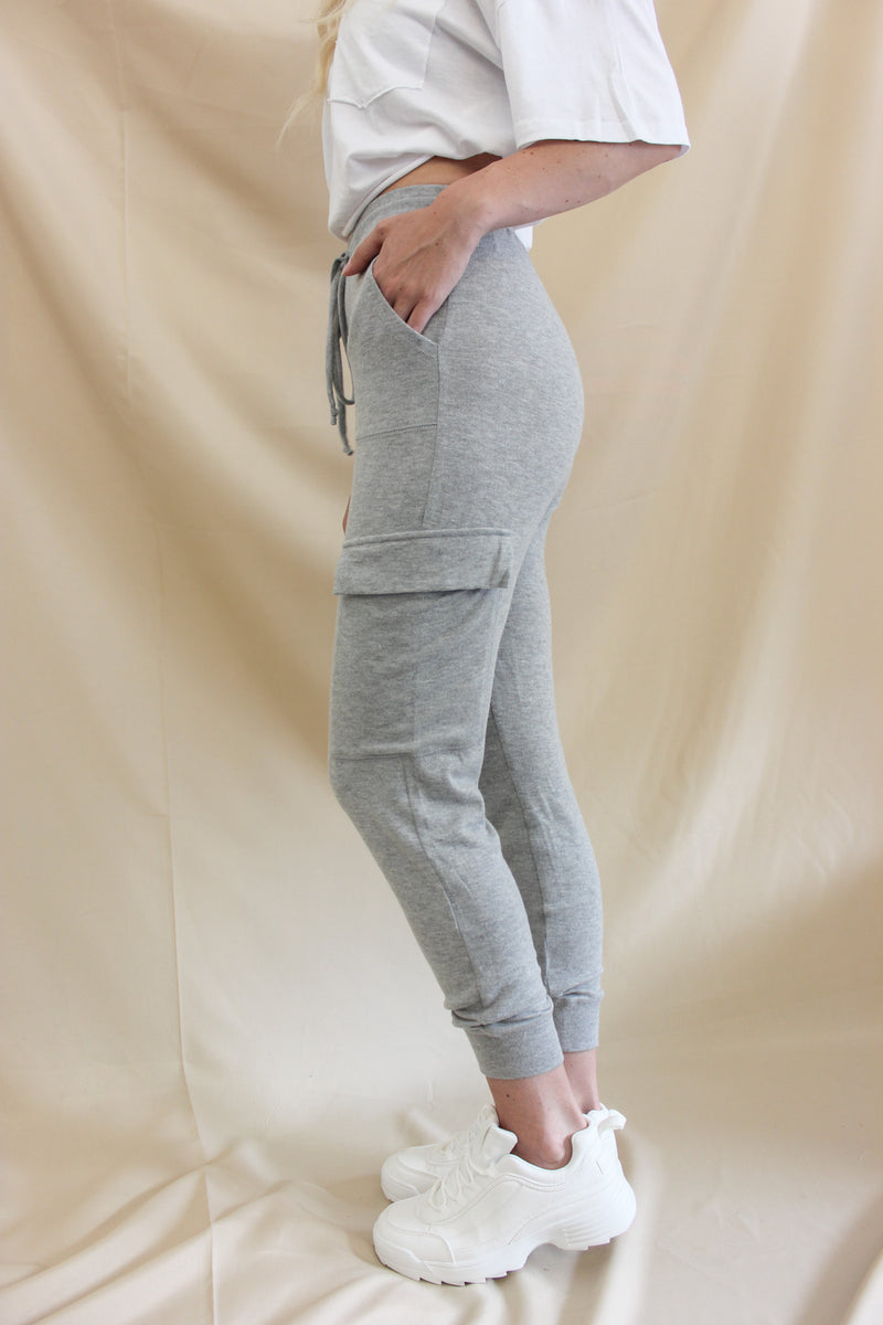 Cove Joggers Heather Grey