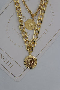 Cristina Coin Necklace