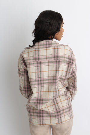 Rustic Plaid Jacket