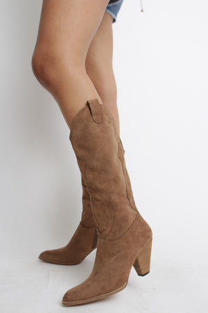 Tennessee Cowgirl Boot Camel