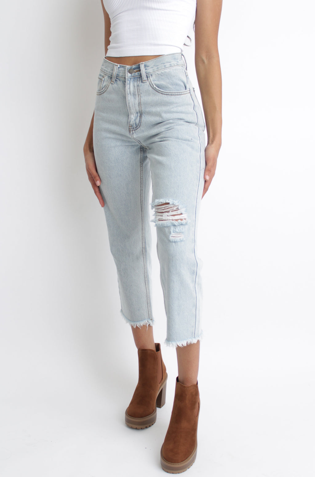 Kara Distressed Jean