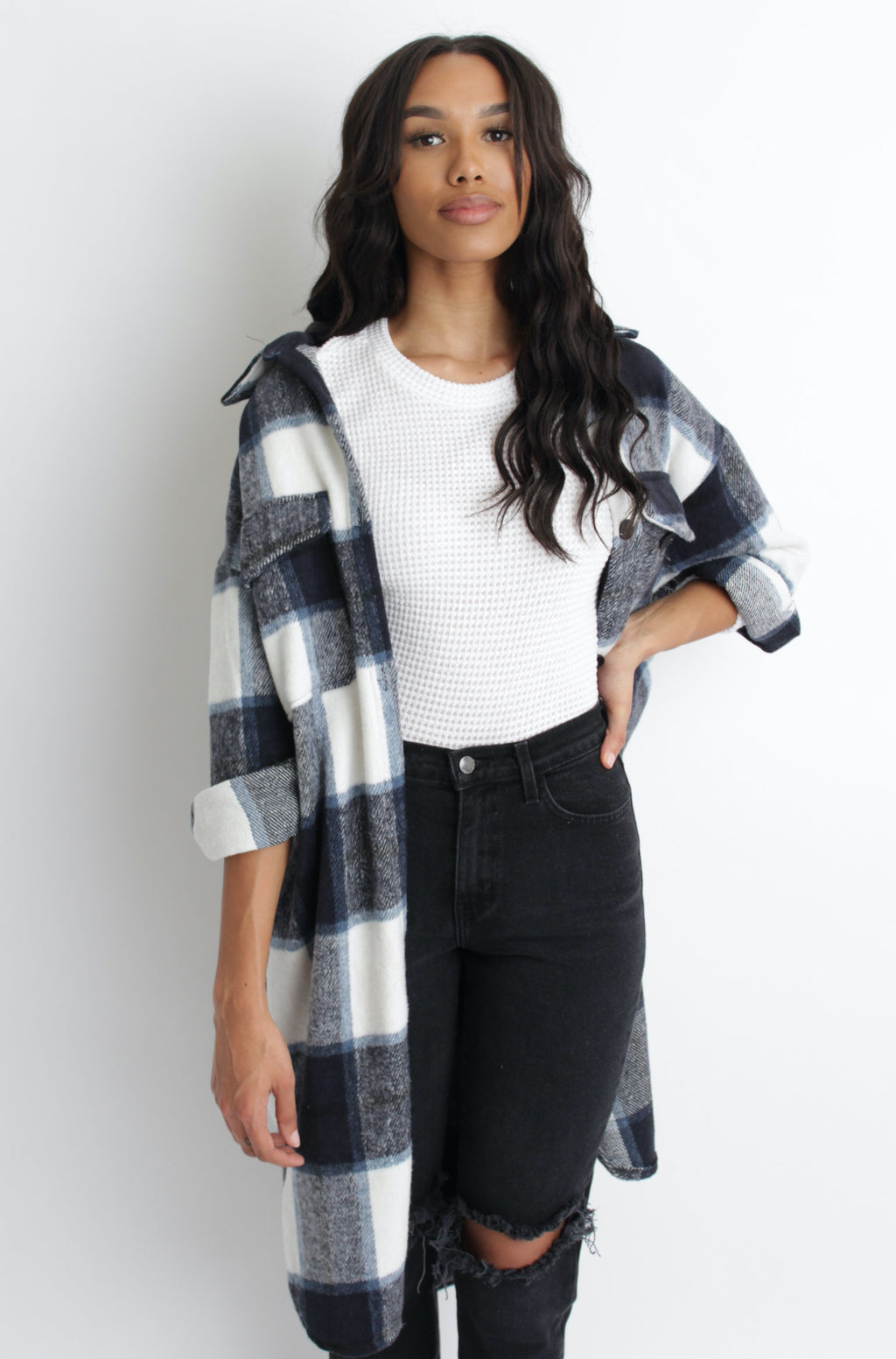 Trisha Plaid Jacket