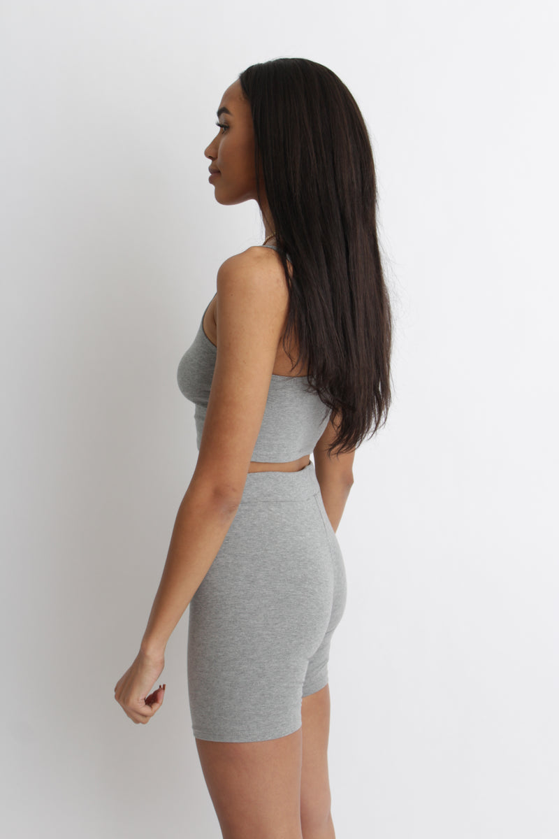 Michelle Set Heather Grey