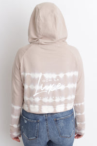 Luxe Cropped Beach Hoodie