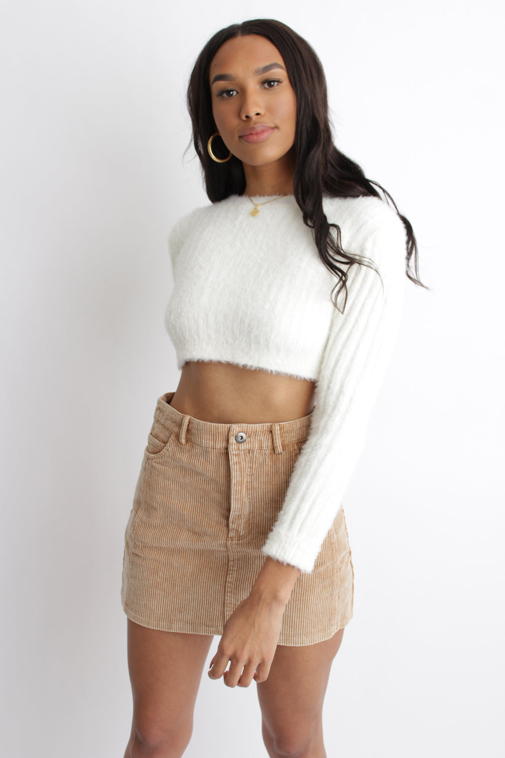 Sivan Cropped Sweater