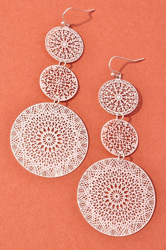 Celia Earrings Silver