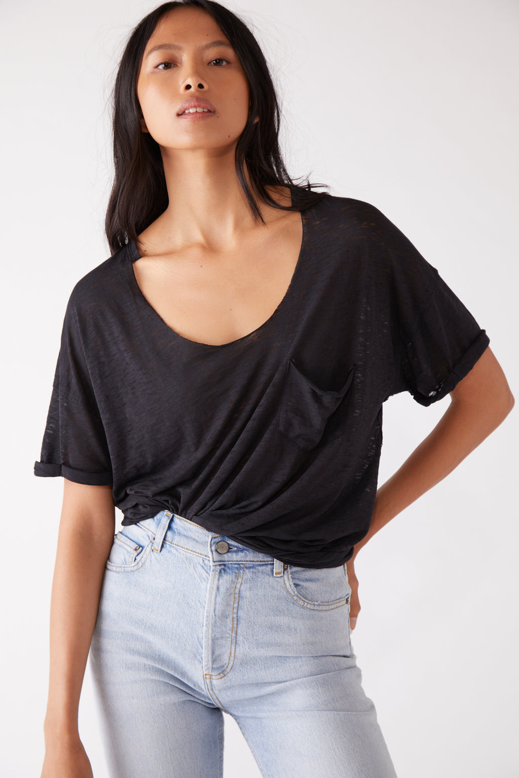 Free People Summer Sky Tee
